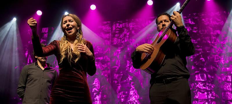 Un momento del concierto de Rocío Márquez