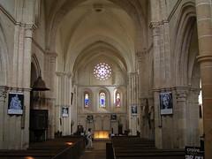 20080519 25921 Jakobus Montreal Kirche Rosette Altar ElisabethB - Photo of Marmeaux