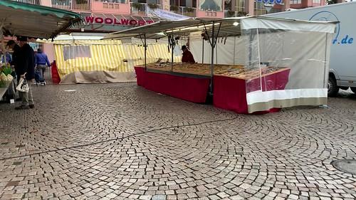 Besuch Wochenmarkt Dudweiler