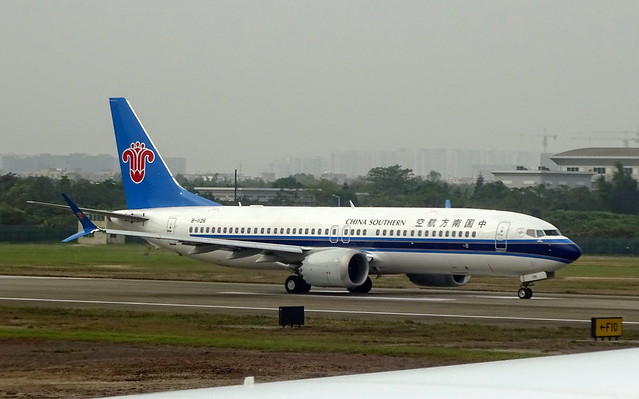 China Southern Airlines Boeing 737-700 B-1126