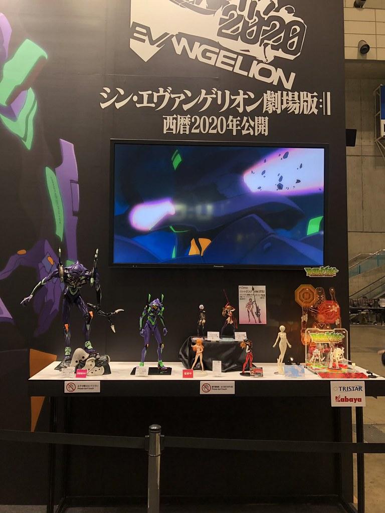 【WF2019冬】《新世紀福音戰士 Evangelion》攤位展出初號機、8號機、明日香...等多款模型新作原型!