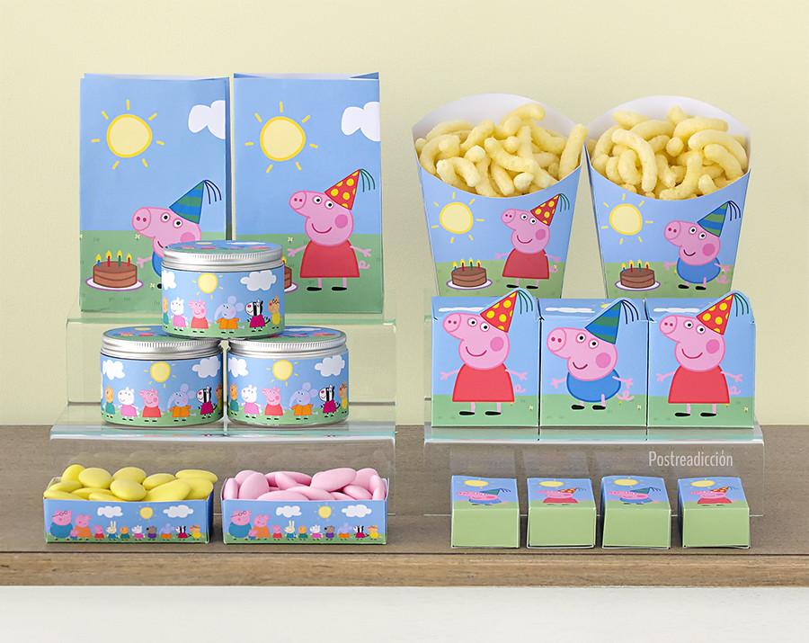Imprimible fiesta Peppa Pig