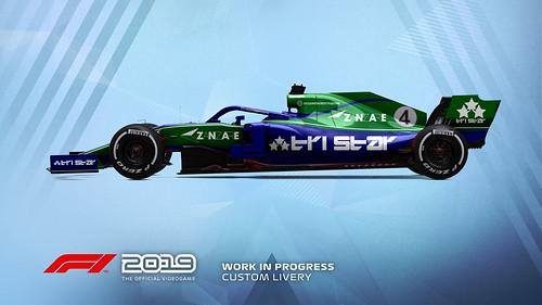F1 2019 Livery Design 2