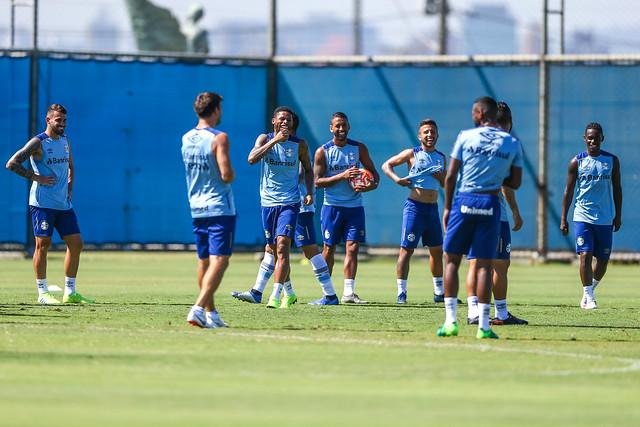 Treino Grêmio 23/02/19