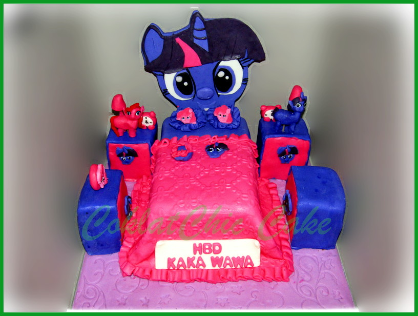 Cake My Little Pony Bedroom - WAWA 15 cm