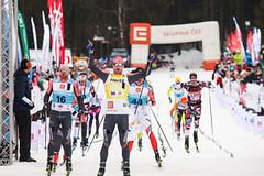 Dramatický finiš ČEZ Jizerské 50 ovládl Nor Nygaard, Kateřina Smutná dojela druhá