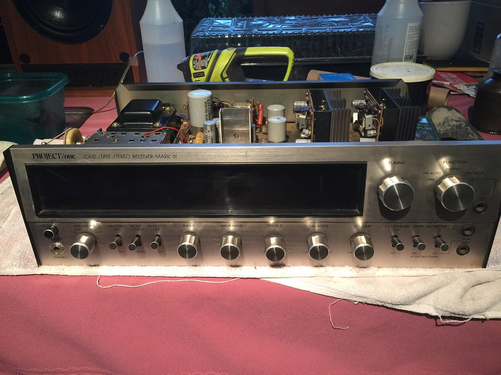 Project/One Solid State Stereo Receiver MARK III, One amp
