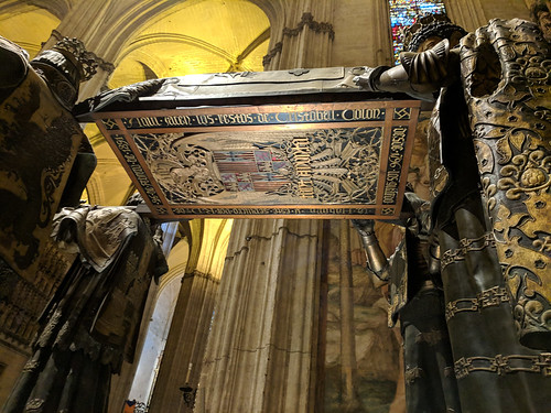Christopher Columbus' tomb @ Catedral de Sevilla