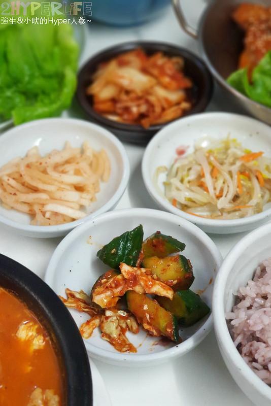 46611636604 00be962cc0 c - 韓國夫婦廚師開的韓國料理!米花停的韓式辣醬豬肉份量多肉肉控會愛,泡菜豆腐湯味道也不一般啊~
