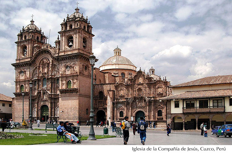 Iglesia de la Compañía de Jesús - Cuzco, Perú