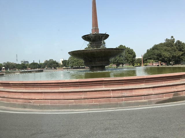 145. Roundabout in Dehli, India