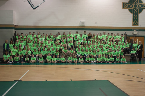 St. Patrick Catholic School in Parnell celebrates 125th anniversary and St. Patrick's Day