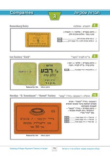 paper payment tokens in Israel page 076