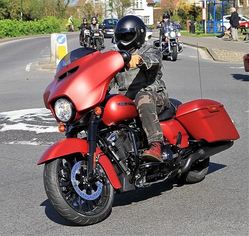 Harley-Davidson Street Glide.