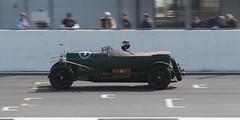Silverstone spring start VSCC Benjafields 100.  3 litre vintage Bentley