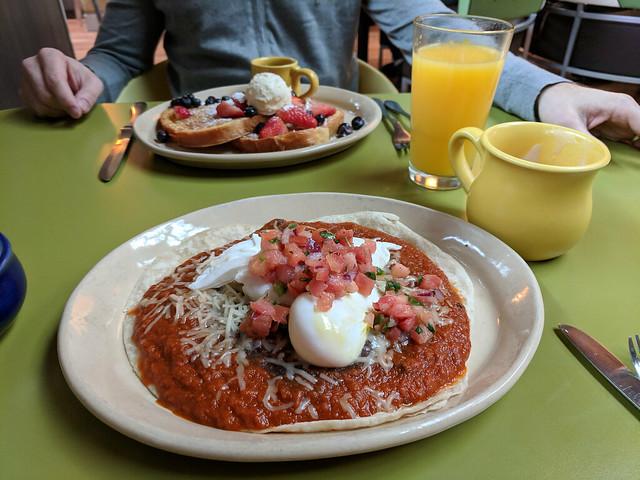 Huevos Rancheros and French Toast @ Snooze