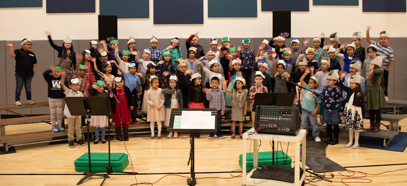 Washington Elementary First Grade Concert