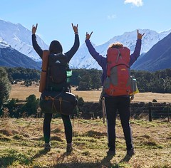 Hiking the New Zealand Southern Alps