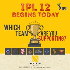Are we all excited for the 12th edition of IPL? Which team are you supporting? #IPL2019 #IPL #CSK #DC #KXIP #KKR #MI #RR #RCB #SRH #Kerala #Kochi #India #Architecture #Home #Celebration #City #Elegance #Environment #Elegant #Beauty #Beautiful #Interior #