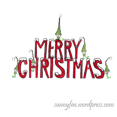 merry Christmas elves