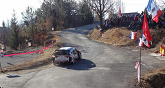 Kris Meeke at Basse Correo Stage on Monte-Carlo Rally (12) - Photo of Lettret