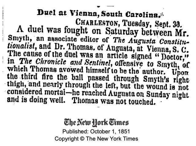 Duel at Vienna - NYT