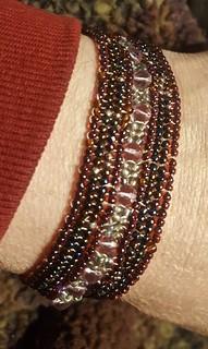 ndbele stitch bracelet