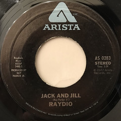 RAYDIO:JACK AND JILL(LABEL SIDE-A)