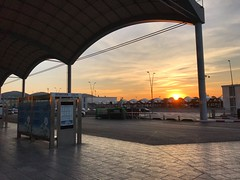 Alicante Airport Sunset