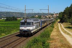 BB 67514+X 4911+X 4903+X 2825 n°742741 St Etienne - Carnoules