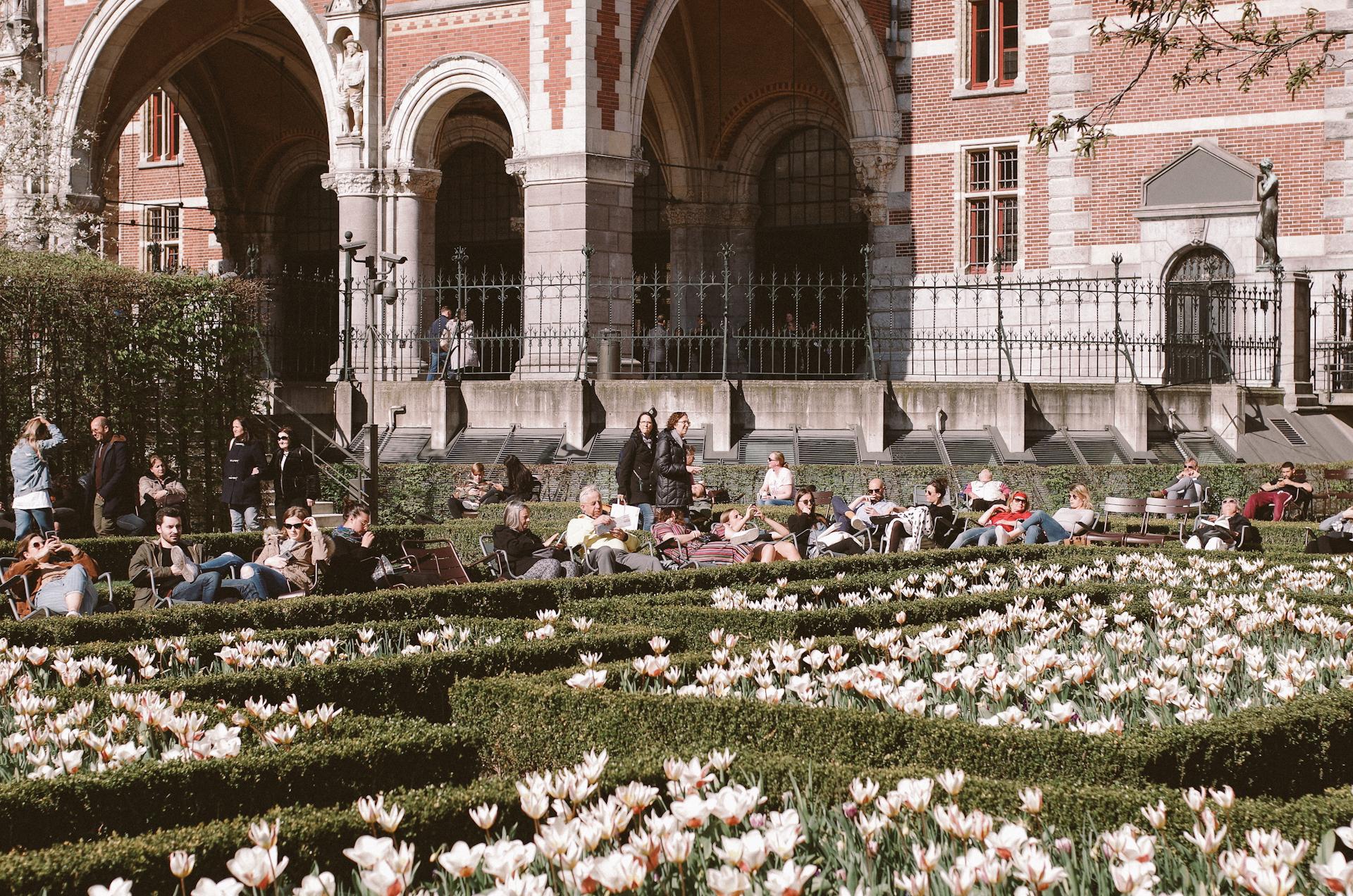 Amsterdam, Jardin des Tulipes