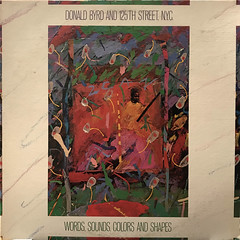 DONALD BYRD AND 125TH STREET, N.Y.C.:WORDS, SOUNDS,COLORS AND SHAPES(JACKET A)
