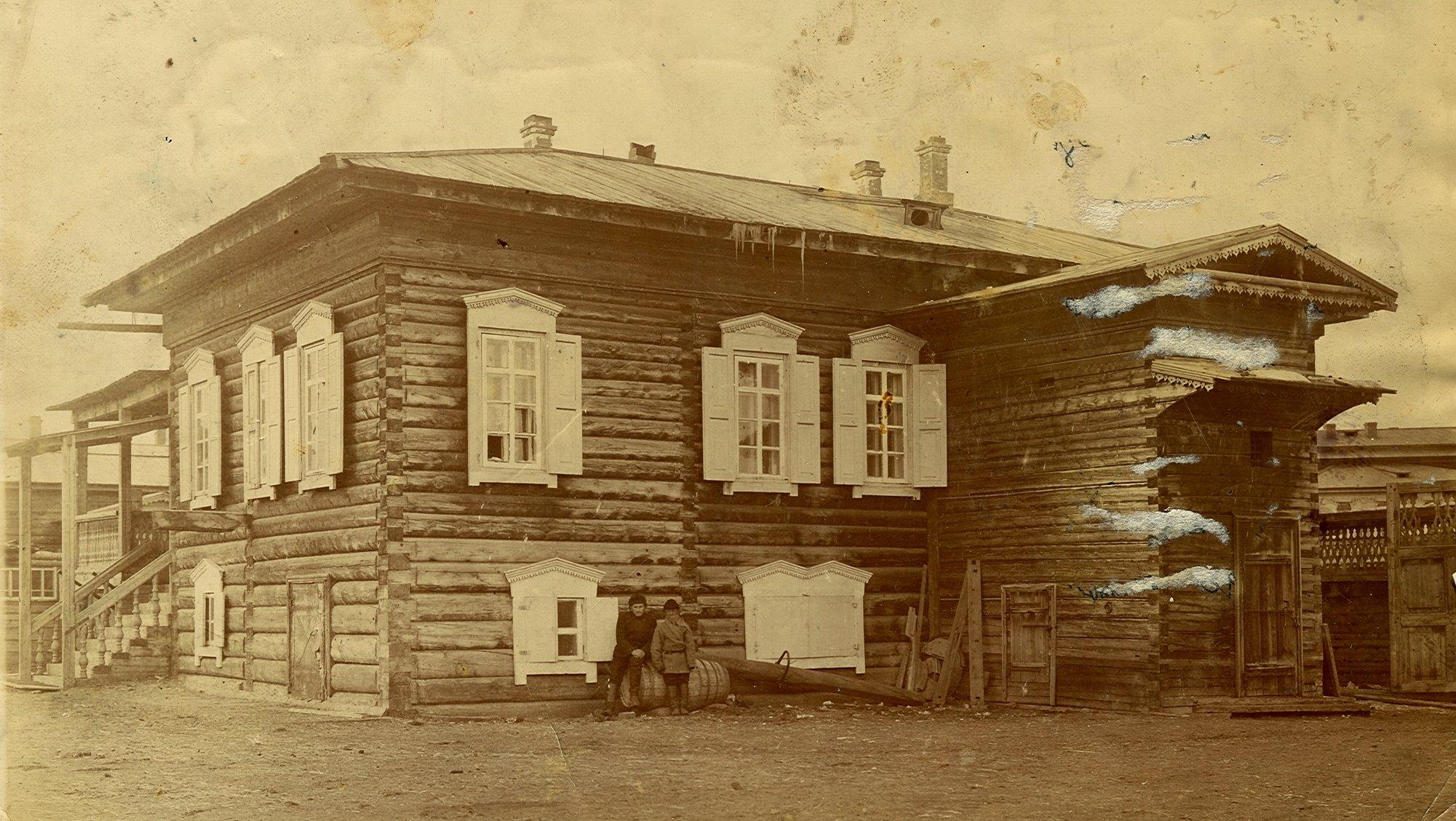 Дом якута Федора Романова