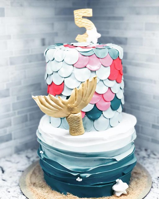 Mermaid Cake by Lolly Cakes