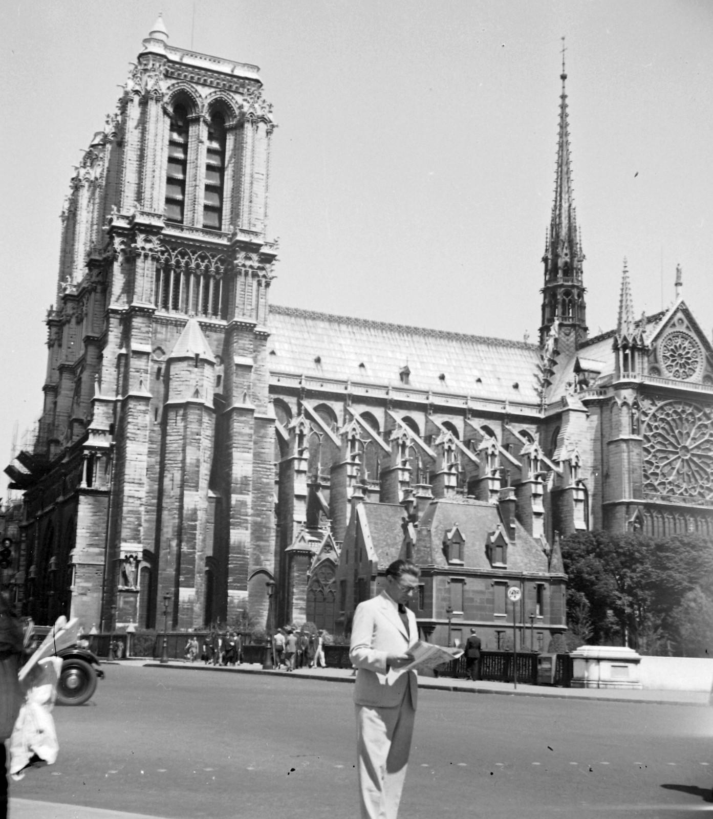 1939. Собор Нотр-Дам