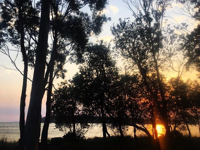 Garden Island Creek. Sunset.