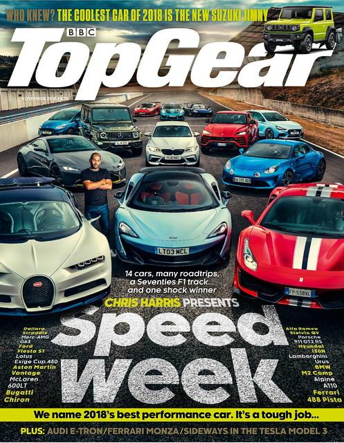 BBC Top Gear 11/2018