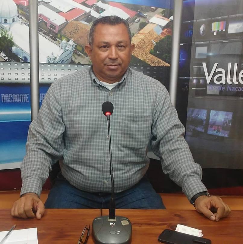 Television journalist Gabriel Hernández