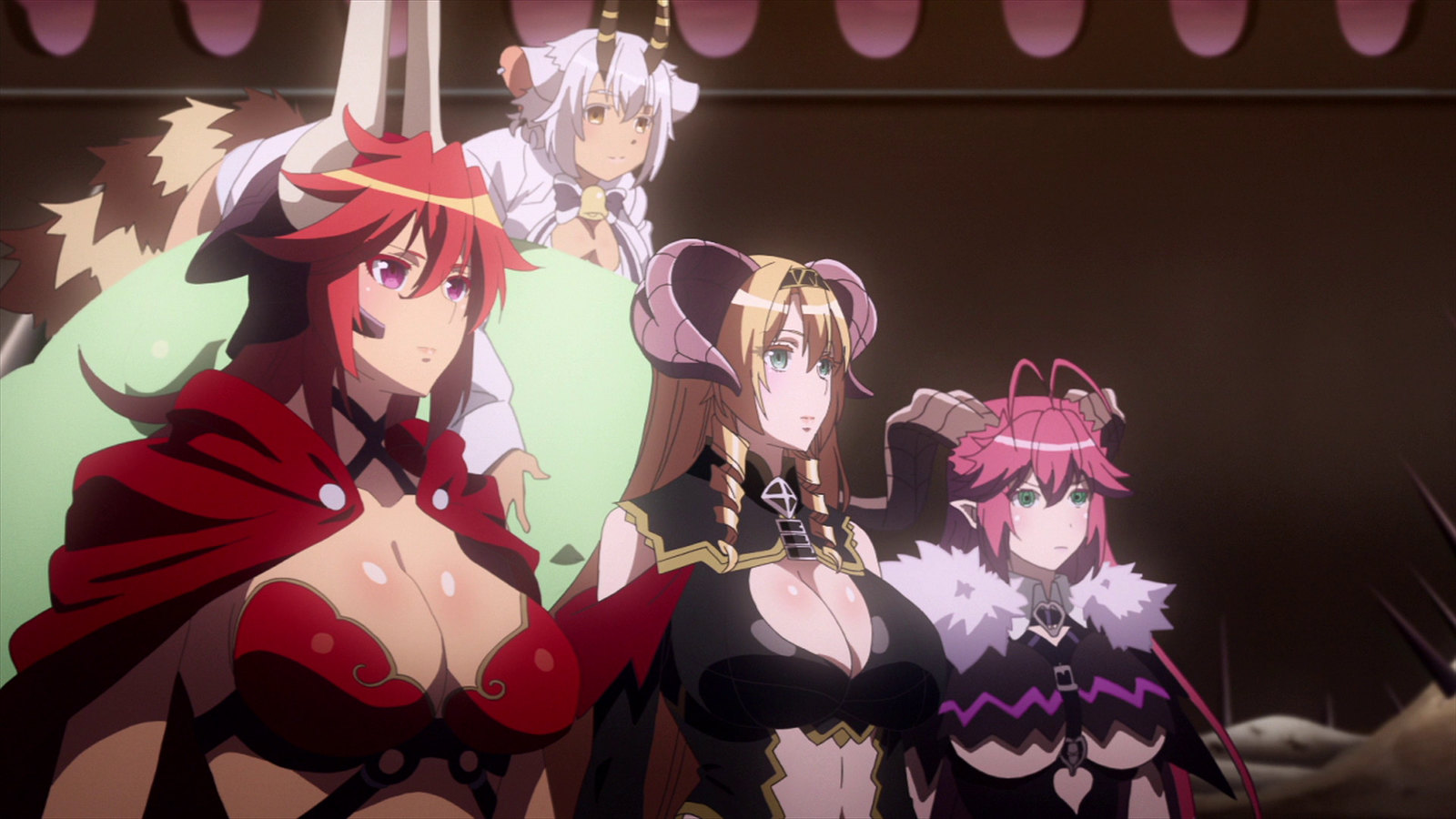 Seven Mortal Sins Complete Series Anime MVM Screen Demon lords