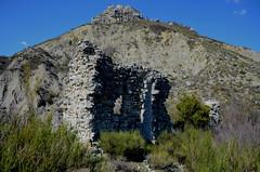 Ruine d'une chapelle au Rocher de l'Aigle
