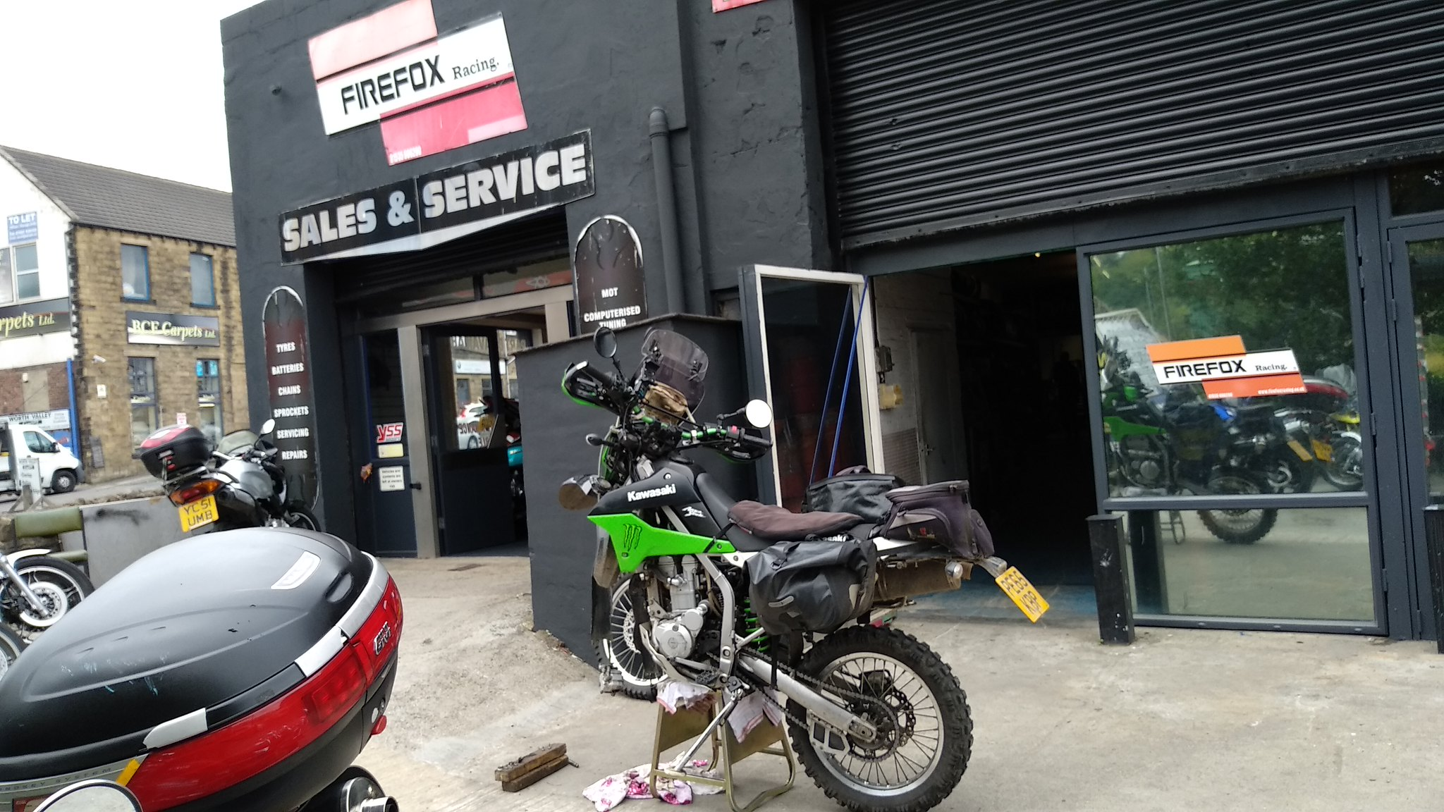 Honda Xr400r Rear Shock Options Adventure Bike Rider Forum