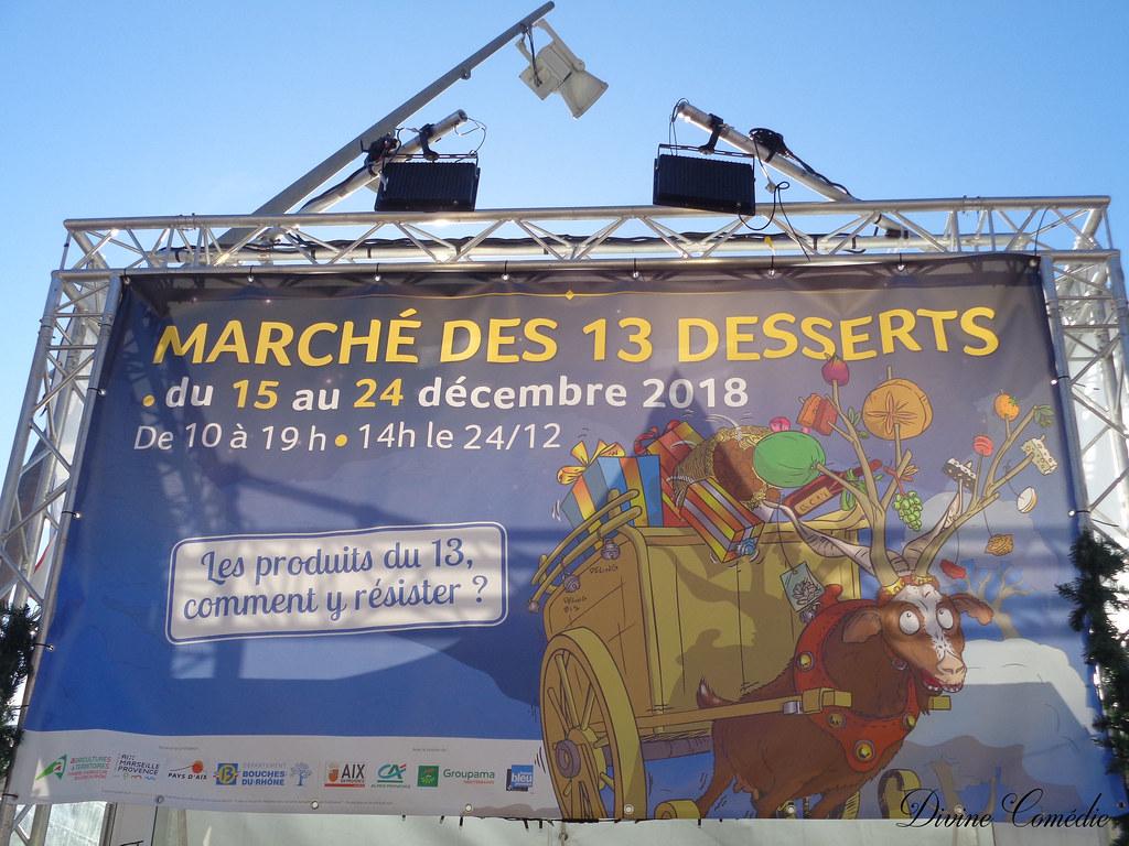Marché 13 desserts aix 2018