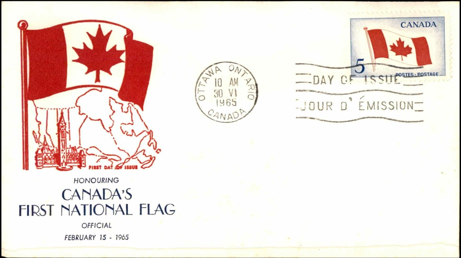Canada - Scott #429 (1965) first day cover