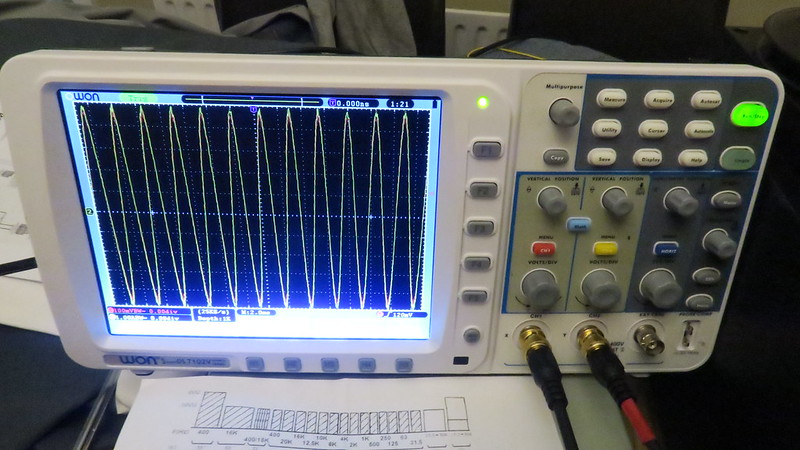 Studer A810 using oscilloscope for azimuth - Tapeheads Tape