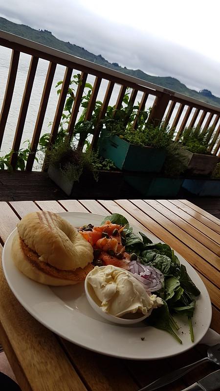Boat Shed Café Bagel