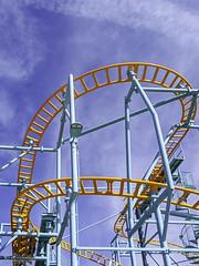 Undertow Spinning Roller Coaster Santa Cruz Beach Boardwalk 01