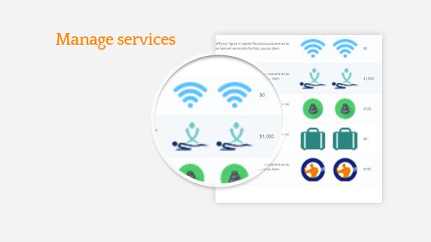 Ap Booking PrestaShop Module - Manage Services