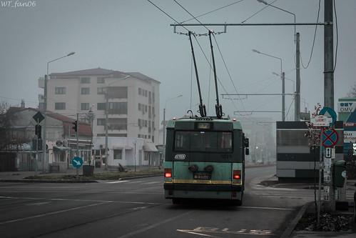 Ikarus 5219 trolleybus STB Bucharest