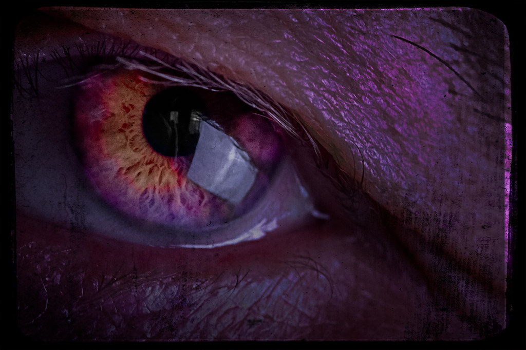 abstract eye macro