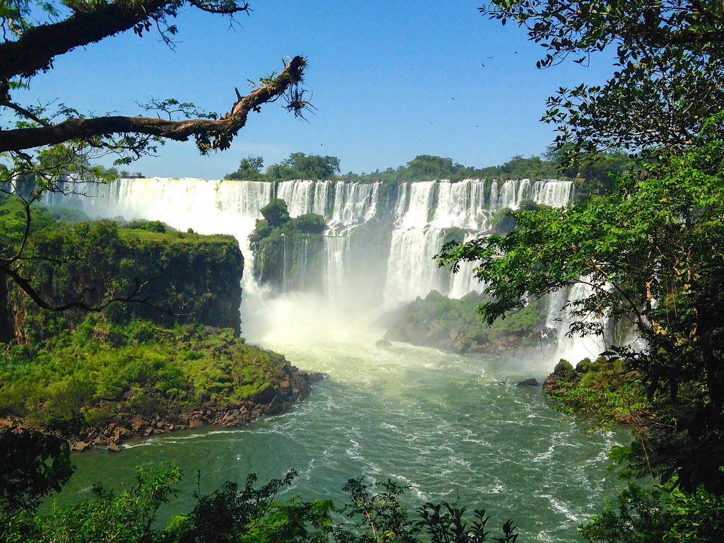 Cataratas de Iguazú desde Argentina